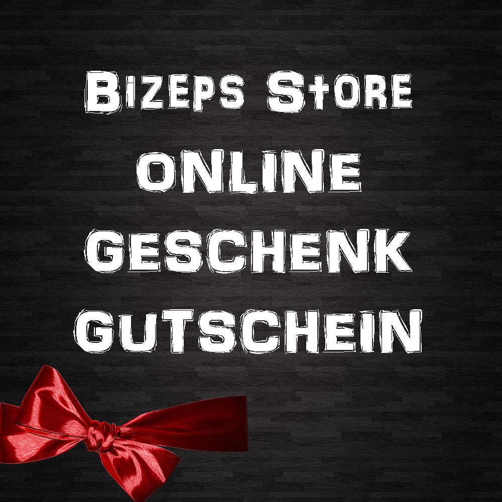 Bizeps Store Geschenk Gutschein